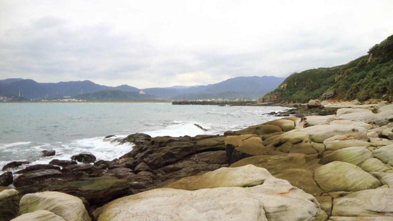  新北。金山 神秘海岸&燭臺雙嶼-美到令人嚮往的北海岸秘境