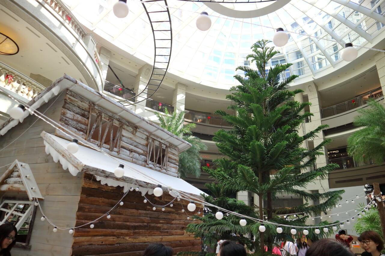 |台北。信義|BELLAVITA 寶麗廣塲-寶麗聖誕小鎮 城市內的雪白世界