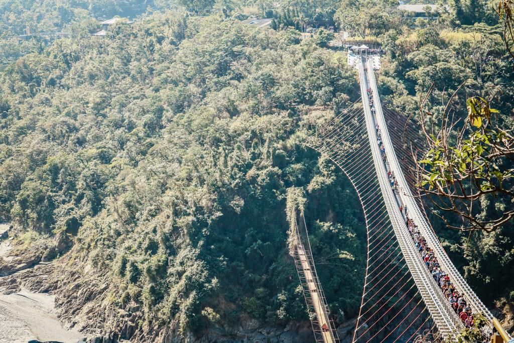 |屏東。三地門、瑪家鄉|山川琉璃吊橋-美到不行的吊橋