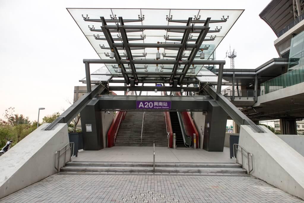 |桃園機場捷運|A20興南站-附近熱門景點推薦、車站介紹