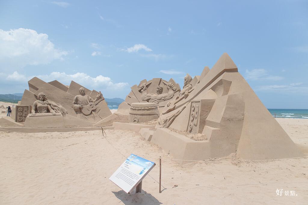 |新北。貢寮|2017福隆國際沙雕藝術季-超大沙雕城堡與可以穿過的拱門!