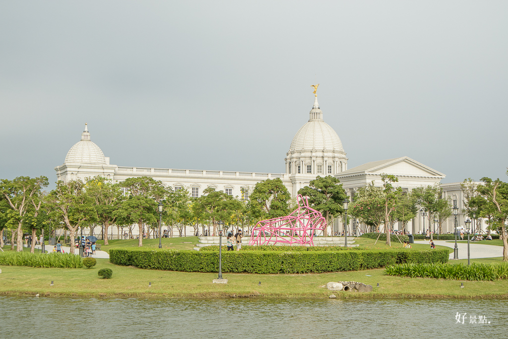  台南。仁德 奇美博物館、台南都會公園-希臘古典風格建築