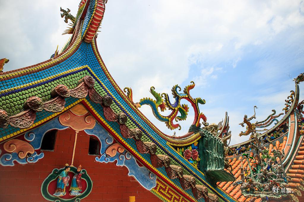  新北。瑞芳 金瓜石勸濟堂-東南亞最大的關聖帝君銅像就在這裡!