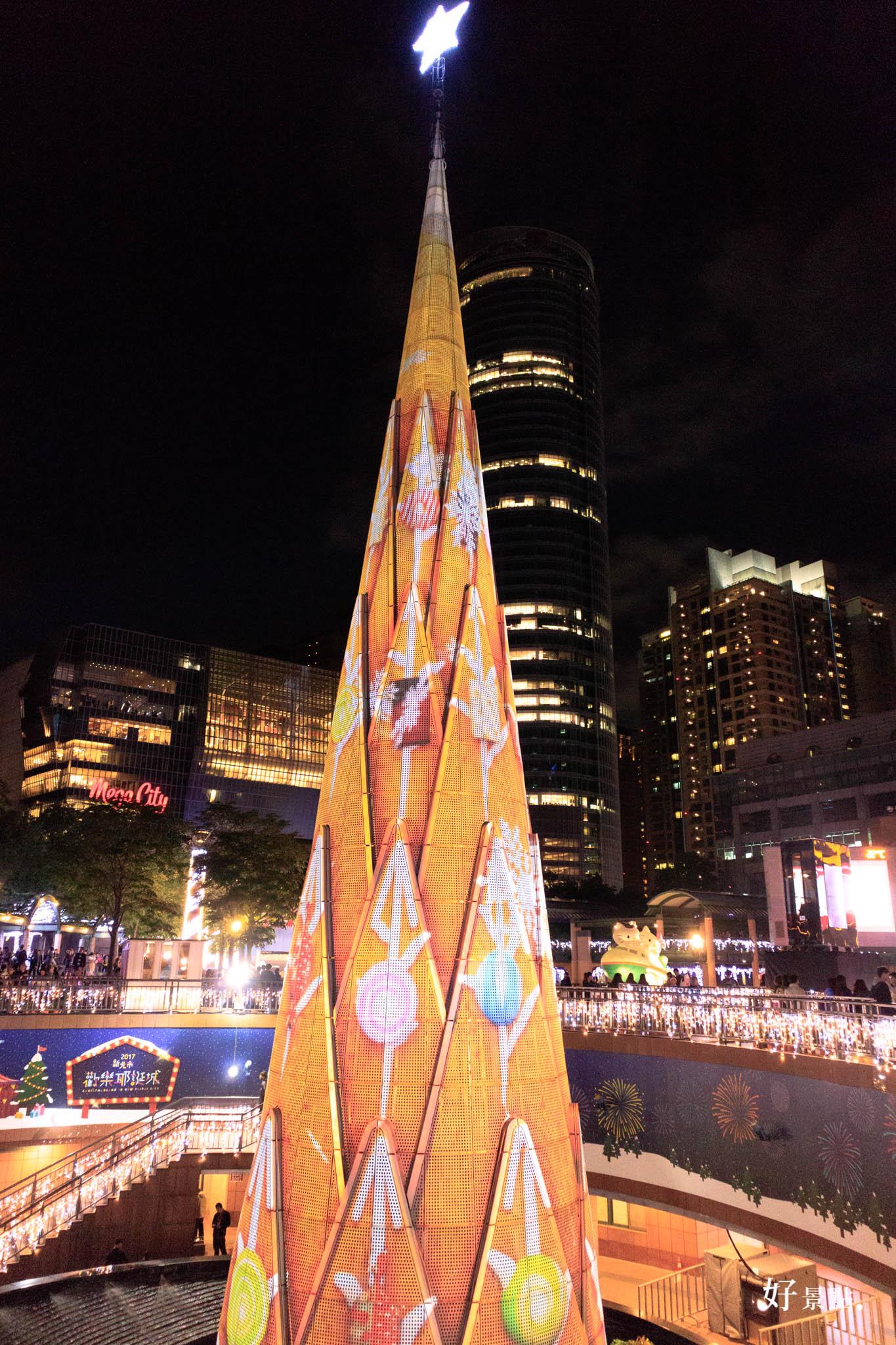 |新北。板橋|2017新北歡樂耶誕城3D光雕秀/浪漫燈海隧道/IG打卡攻略