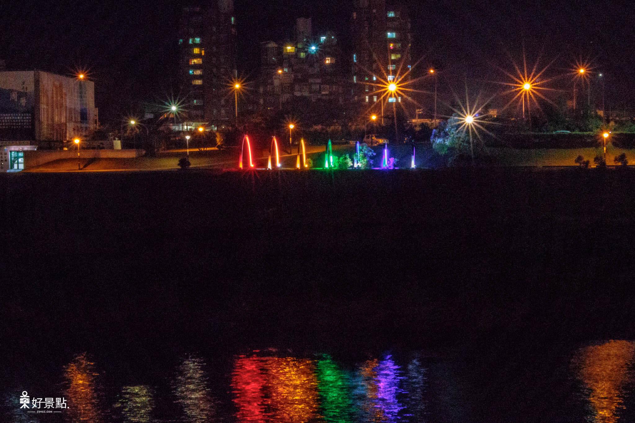 |新北。汐止|星光橋-基隆河上璀璨閃耀之最