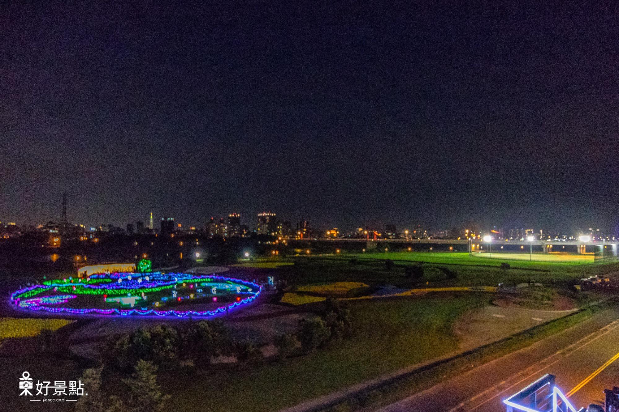 |新北。板橋|江翠礫間水岸蝴蝶公園-9萬支風車、浪漫光雕蝴蝶地景!