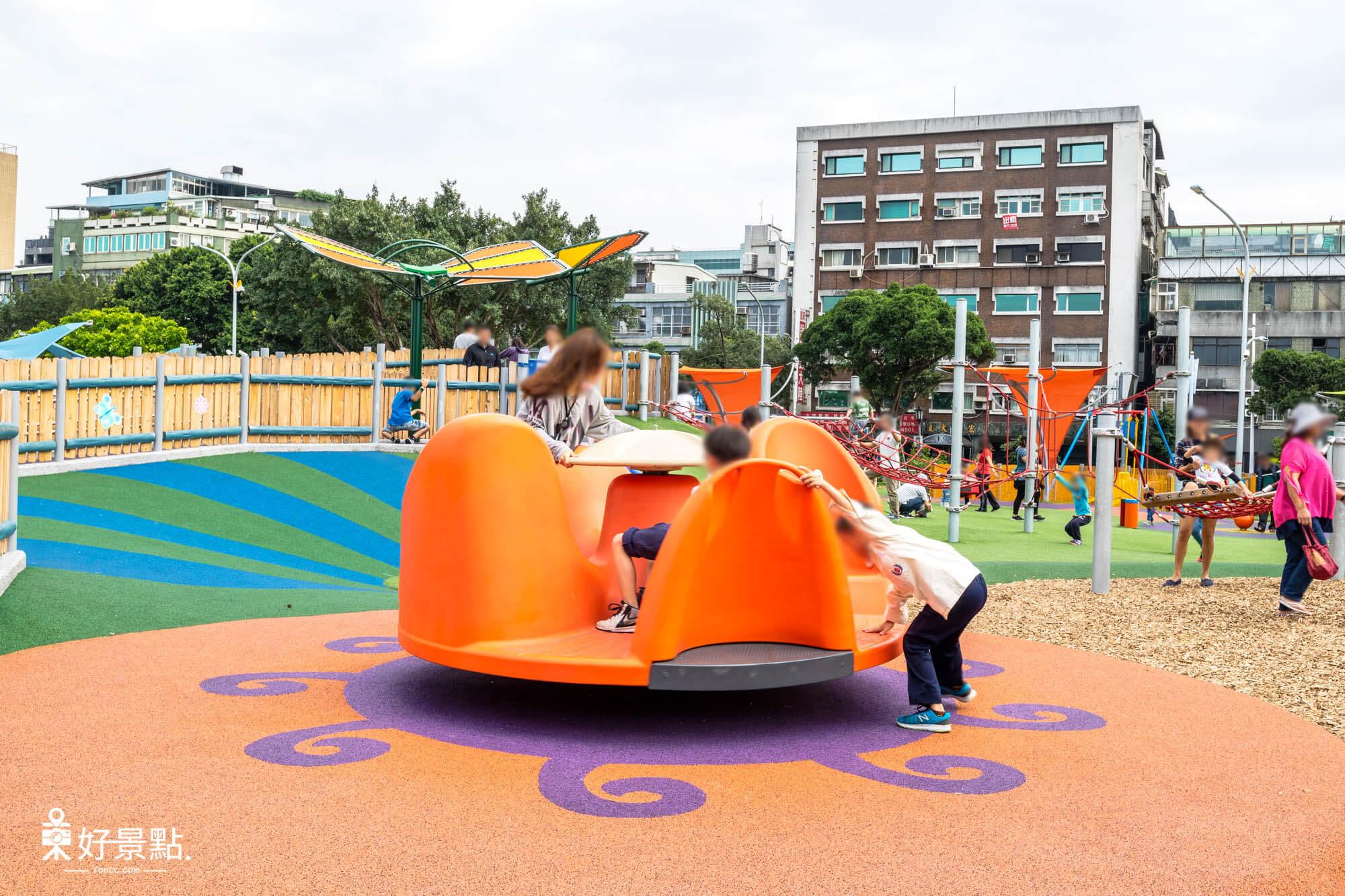 |台北。中山|圓山花博公園-舞蝶共融遊戲場