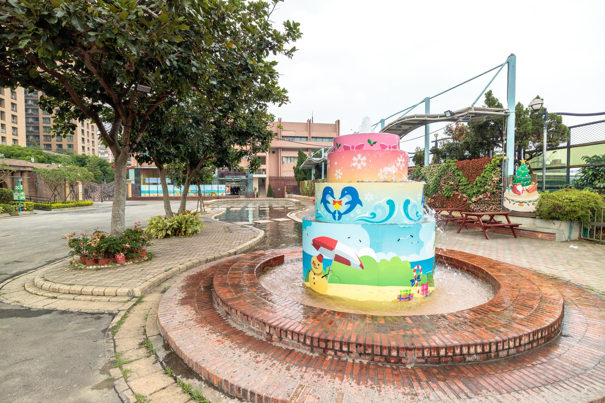 |台北。中正|自來水園區-水鄉庭園夏天親子戲水好去處