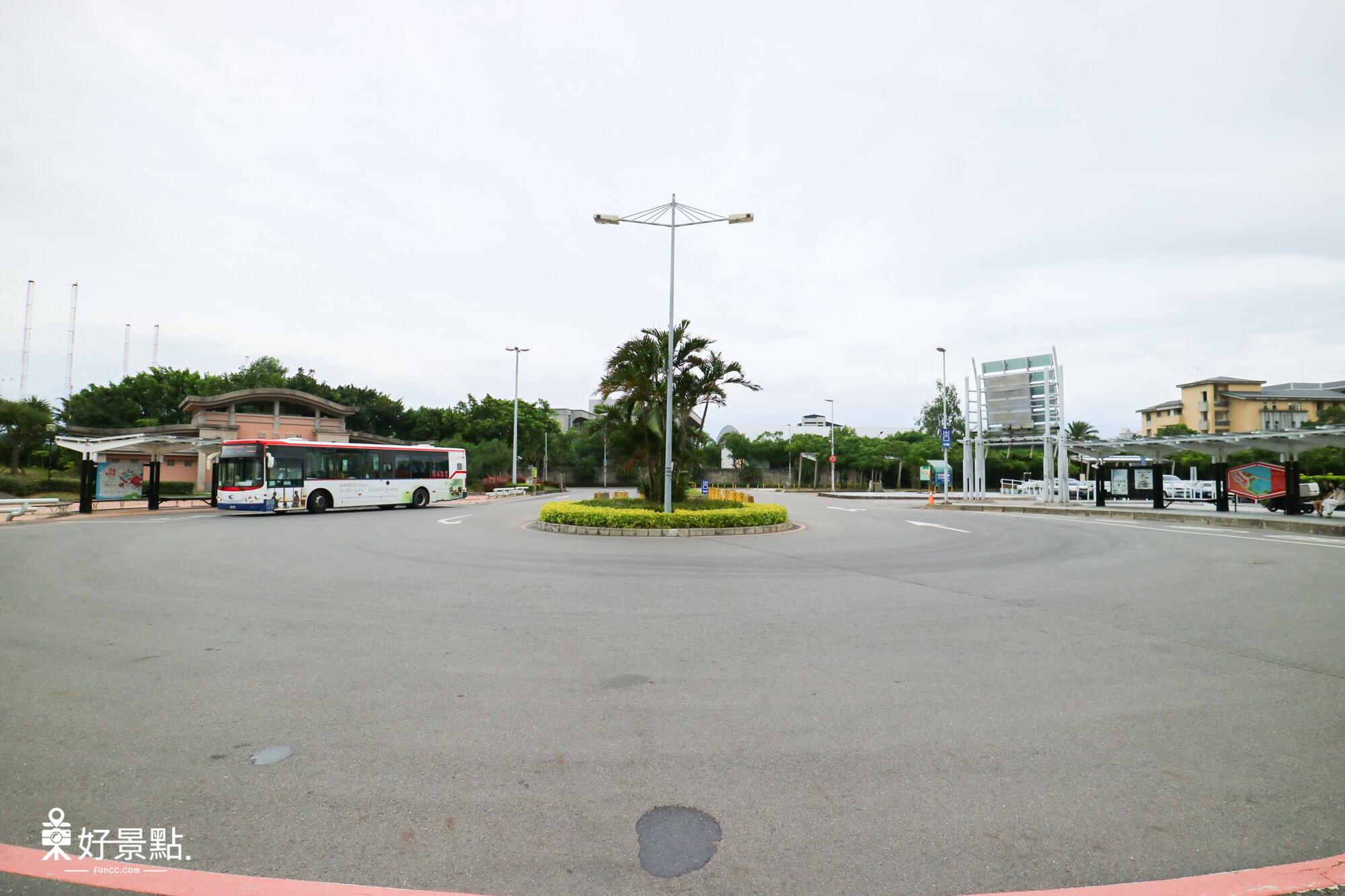 淡水漁人碼頭公車站