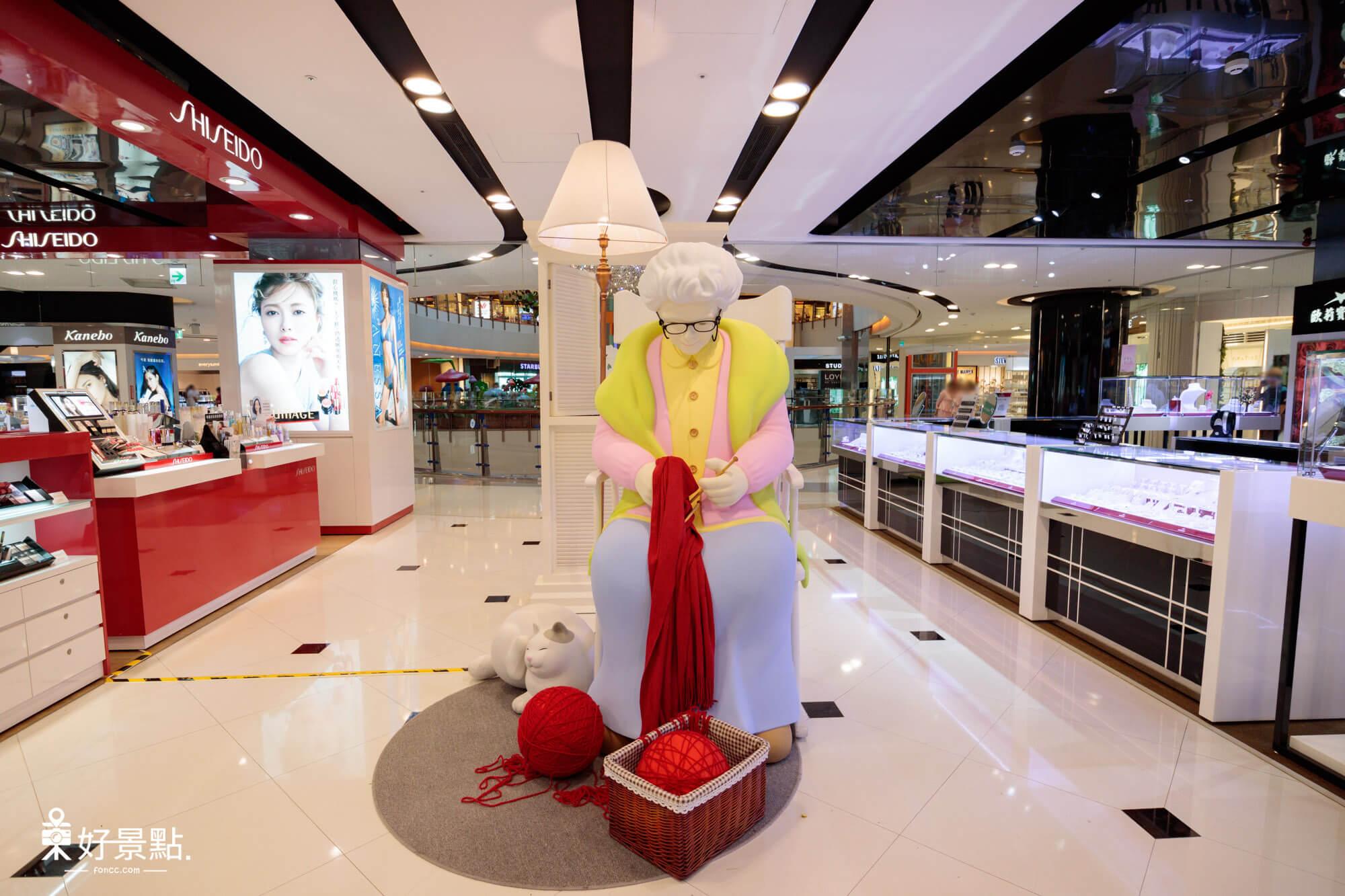 大江購物中心「童趣夢幻 歡樂仙境」裝置藝術