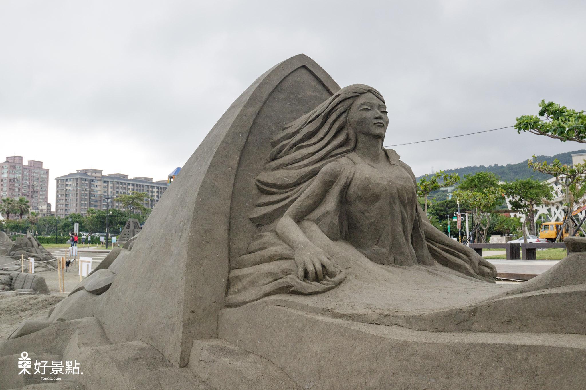2018八里沙雕藝術裝置展