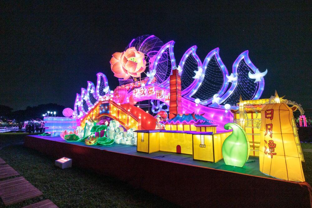 |新北。三重|2019新北「豬福滿滿」祈福燈會-五大特色主題花燈超好看!