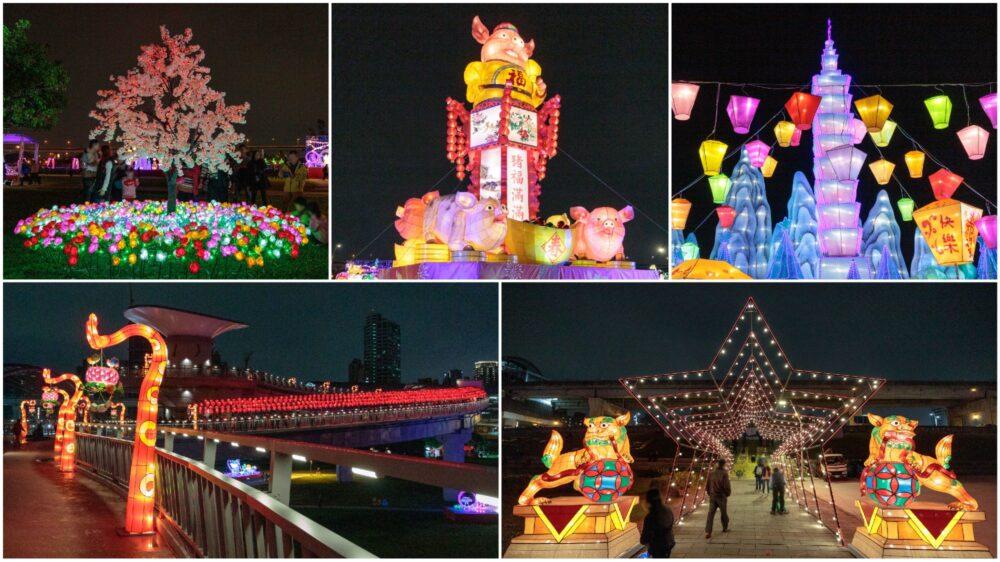2019新北「豬福滿滿」祈福燈會