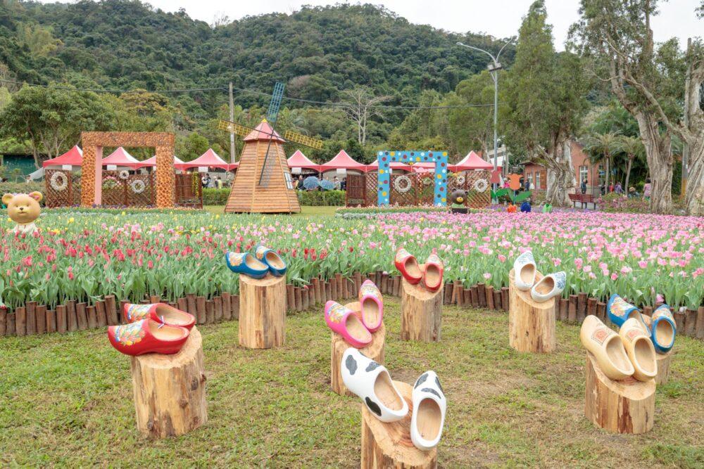 |台北。士林|2019士林官邸鬱金香展-7萬株花朵繽紛登場