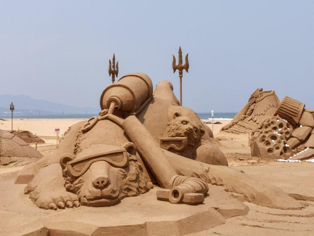 |新北。福隆|2019福隆沙雕藝術季-亞特蘭提斯主題沙雕在這裡!