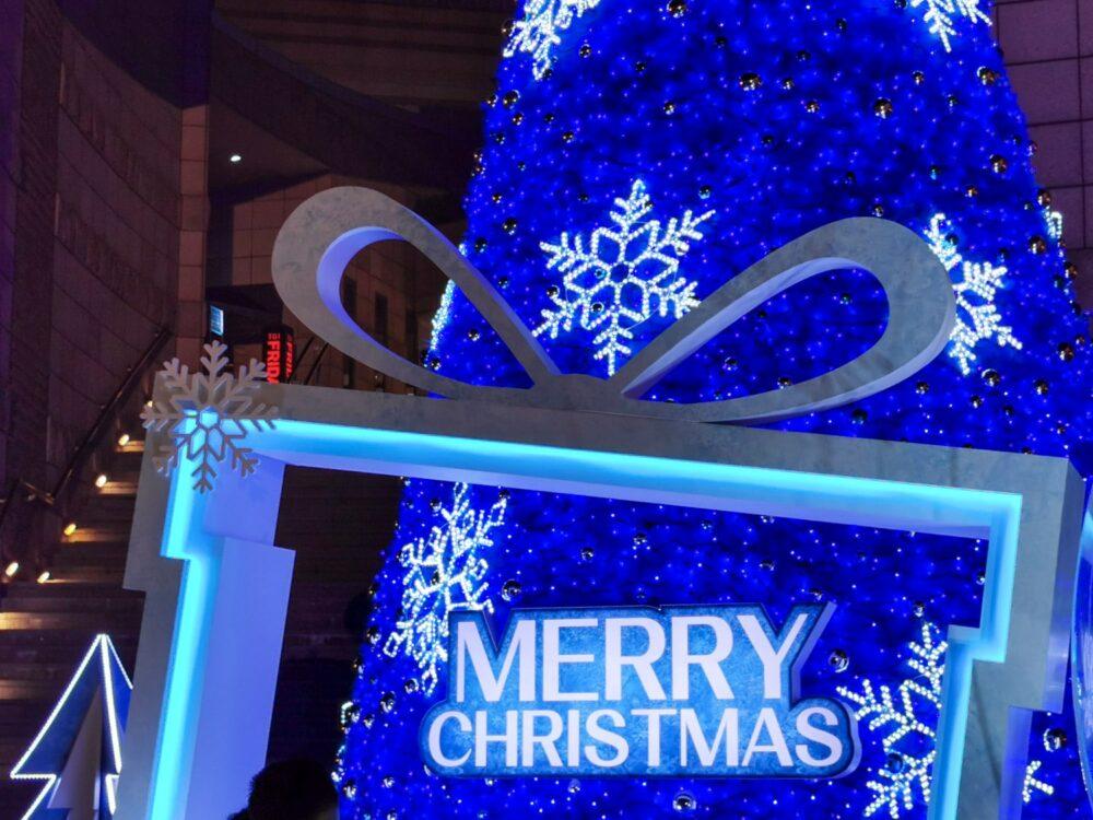 |台北。中山|美麗華百樂園《冰雪奇緣2》-11米高聖誕樹、巨大水晶球超夢幻!