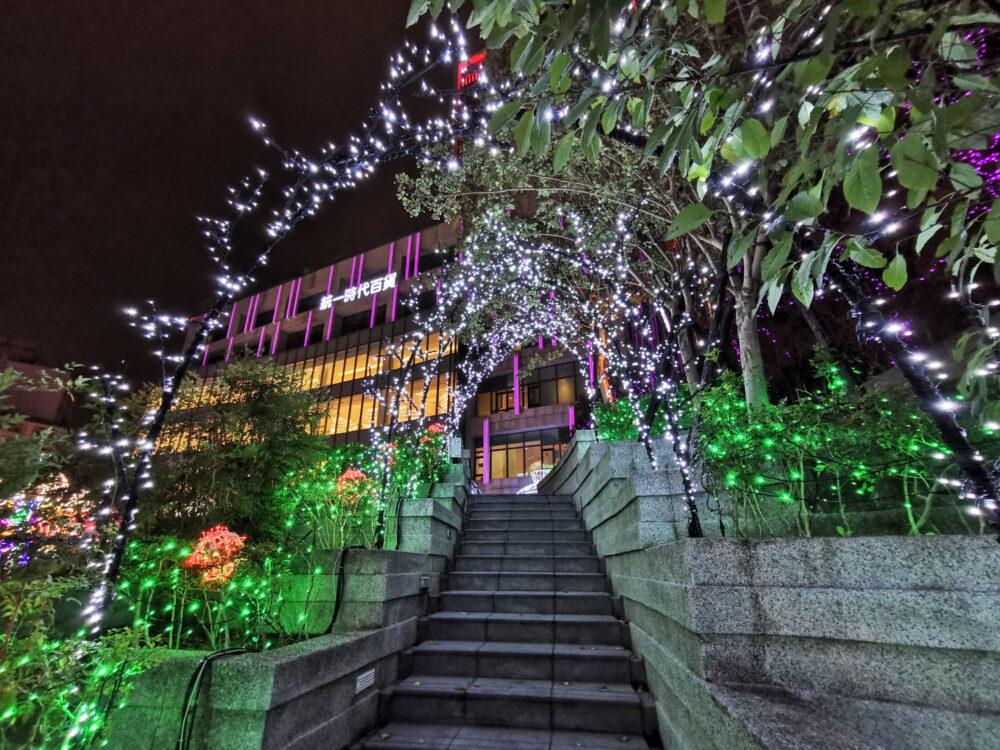 |台北。信義|2019統一時代百貨「愛.Sharing」-拉斯維加斯主題聖誕樹!
