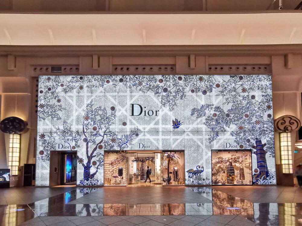 |台北。信義|101購物中心 DIOR 超美精品聖誕樹-2019聖誕節必拍!