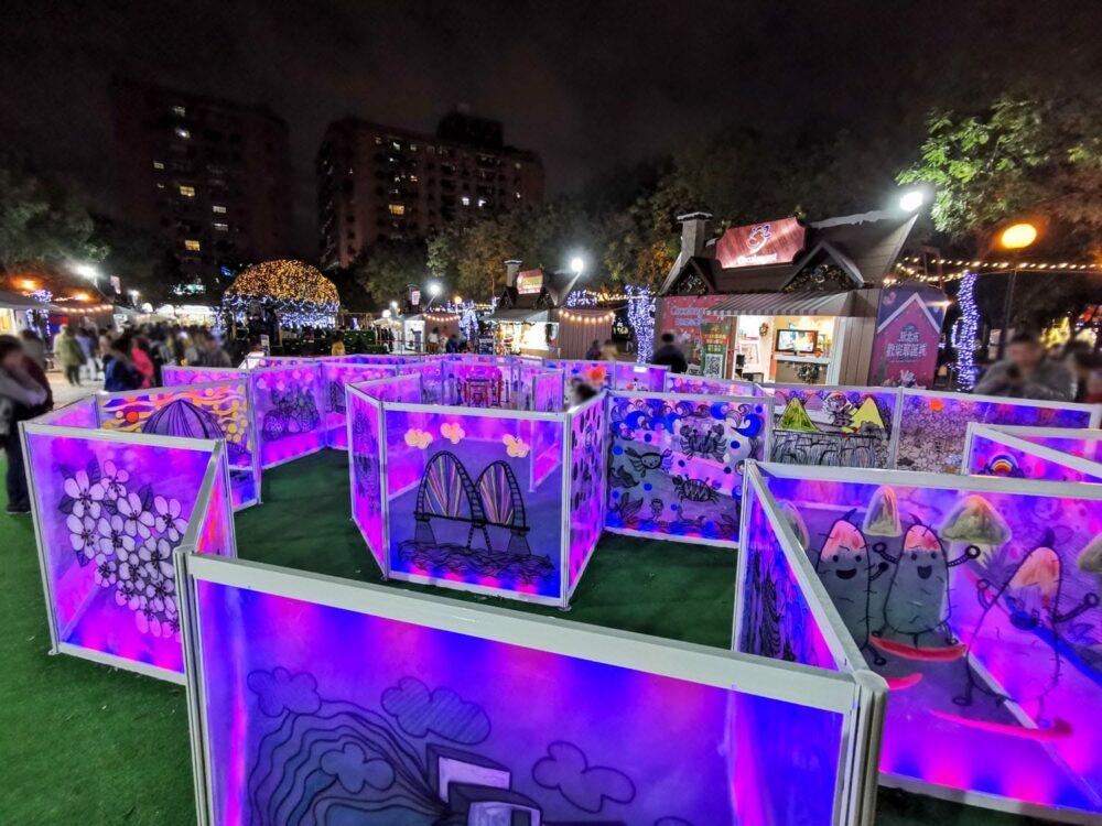 |新北。板橋|2019新北歡樂耶誕城-超多拍照亮點一路美到元旦!