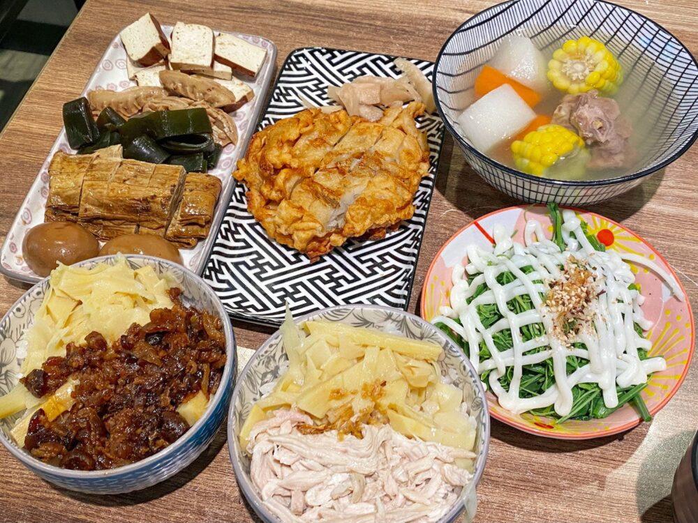 淡水沙崙美食推薦「留飯香」精緻古早味小吃!