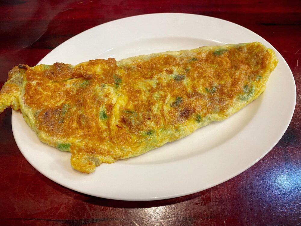 淡水美食推薦「園軒平價鮮魚湯」菜脯蛋