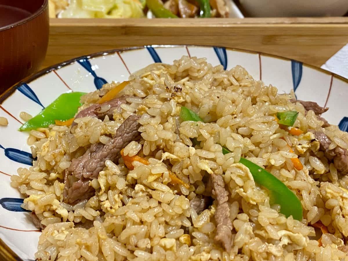 淡水英專路美食「老張炒飯」青椒牛肉炒飯
